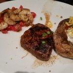 Steak/grilled shrimp