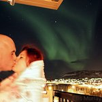 Our Hotel is perfect for couples to view the Northern Lights