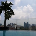 View from the pool