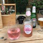 Rose Lemonade in English pub Chiddingstone