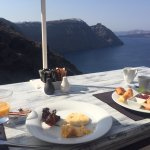 Here is your breakfast view