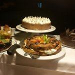 Some of the many desserts