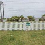 Mustang Island Beach Club provides a dog run.