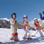 Skiunterricht in Lermoos