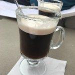 Coffee flambe