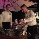 Anniversary dinner at Lanterna Restaurant