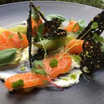 House cured Salmon Lox
