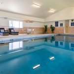 Largest indoor pool and hot tub in town!