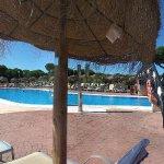 Vistas de las piscinas
