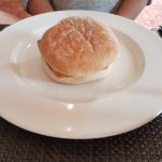 The breakfast 'muffin' aka burger bun @ £21.95