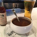 Bermuda Fish Chowder and a Dockyard Ale