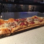 Meat Lover's Flat Bread Pizza