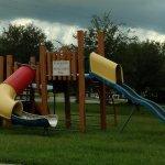 Broken down playground