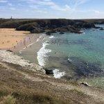 Séjour au vvf de belle ile génial La plage de donnant à 5 minutes fabuleuse !