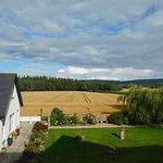 View from twin room Trochelhill