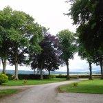 Trochelhill driveway and car park area