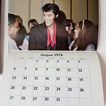 An 1978 calendar of the King....priceless!!