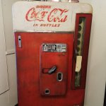 Very old soda machine