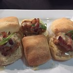 Oyster Sliders on Buttermilk Biscuits