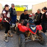 Getting instructions on how to operate the ATV.