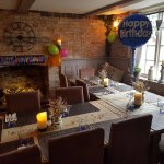 Birthday in our snug area