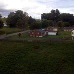 Interesante vista de granjas de la zona
