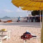 private beach lounges