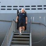 Der Ausgang am U-Boot!