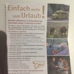SAuerland card entitles you to free entrance at Wisent park