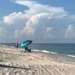 Casey Key beach at Beachcomber
