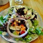 A great salad bar!