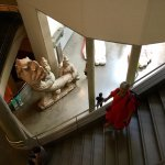 Très beau musée, beaux espaces . Quelle fausse note et piètres économies de laisser des lavabos