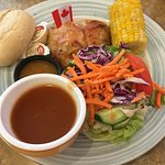 Canadian Summer Fest meal