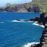 Nakele Point Blowhole - coastline