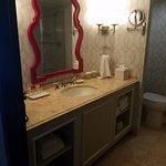 Burgundy Room Bathroom