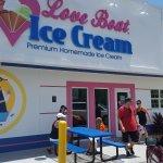 Love boat ice cream
