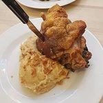 Pork Knuckle with mash and Sauerkraut