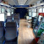 Railway carrige converted to shop