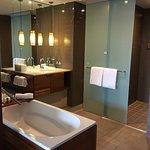 Bathroom of Studio Beachview Room on arrival
