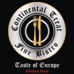 """Continental Treat Fine Bistro  """"Taste of Europe"""" Gluten Free"""