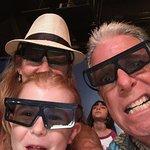 Watching 4D movie