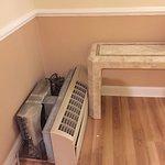 Broken AC in hallway