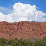 Red Rock Cliffs North and West of Kayenta