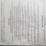 Current menu as of 08/16/17