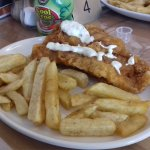 Kid's portion cod & chips