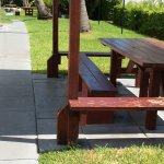 Bocce ball, BBQ space, many pools, picnic tables