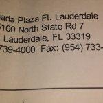 Ramada Plaza Ft. Lauderdale