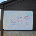 Beach status information