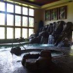 Indoor (small) pool and hot tub at Viking Lodge.