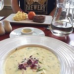 Cullen skink at The Queen's Hotel